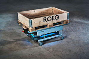 ROEQ makes modules that work with mobile robots.