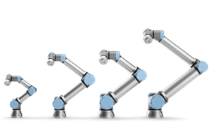 Four models of cobots available from UR