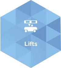 MiR application - Lifts