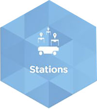 MiR Application - Stations