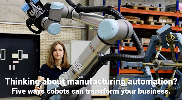 Five ways cobots can transform your business